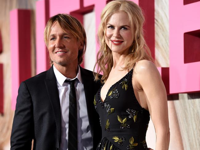 Nicole Kidman and Keith Urban, pictured at the premiere of Big Little Lies, are a true Hollywood love story. Picture: Kevork Djansezian/Getty Images