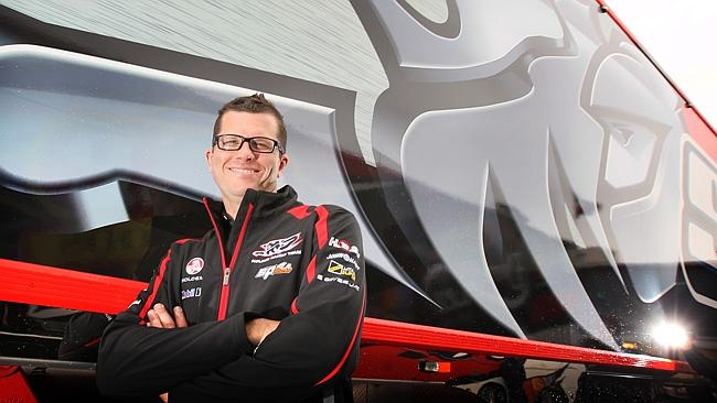 HRT driver Garth Tander has lost his mantle as WA's driving king.