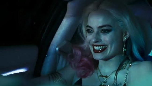 Blonde ambition ... Margot Robbie as Harley Quinn. Picture: YouTube