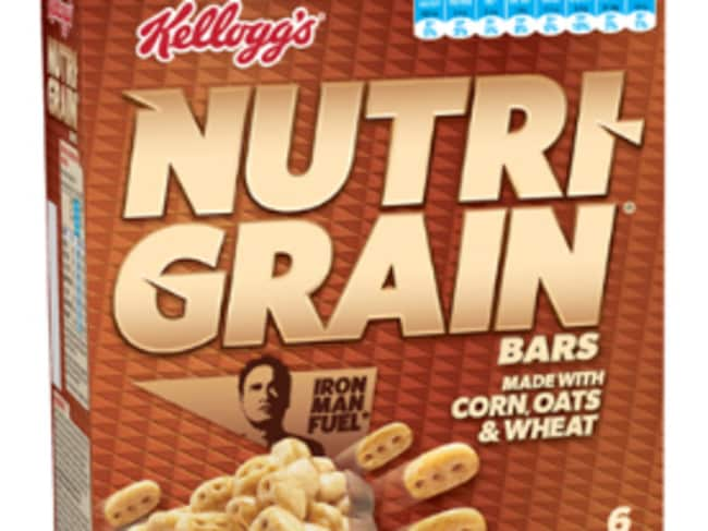 Health experts warn breakfast bars are not suitable options for kids, with Dr Stanton deeming them 'not a satisfactory choice for a child's breakfast'. Picture: Supplied