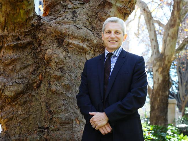 NobleOak Life CEO Anthony Brown says there has been a drop in confidence. Photo: Hollie Adams