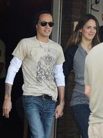 <p>Marc Anthony and his new girlfriend, former Miss Venezuela, Shannon de Lima take a stroll in Buenos Aires. Picture: Snappermedia</p>