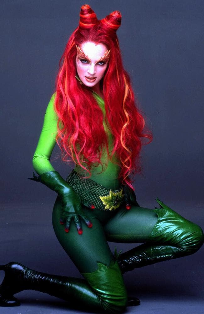 Uma Thurman in 1997 film  <i>Batman & Robin </i>as Poison Ivy