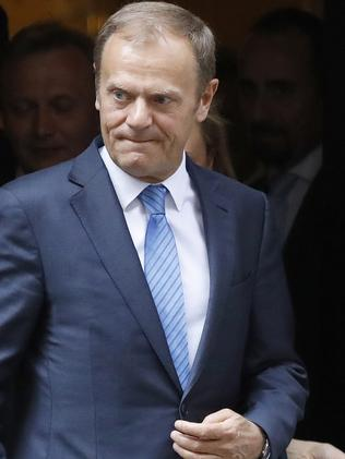 Donald Tusk President of the EU Council has condemned the attacks. Picture: AP.