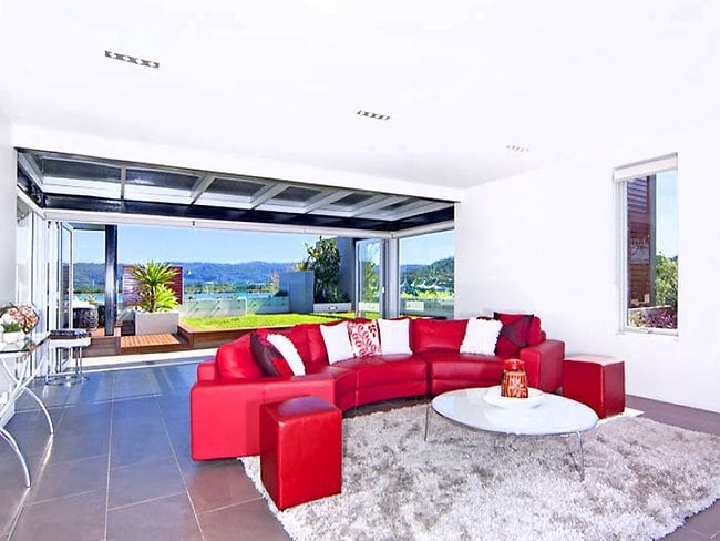 The 'Sky House' in Gosford. Picture: Realestate.com.au.