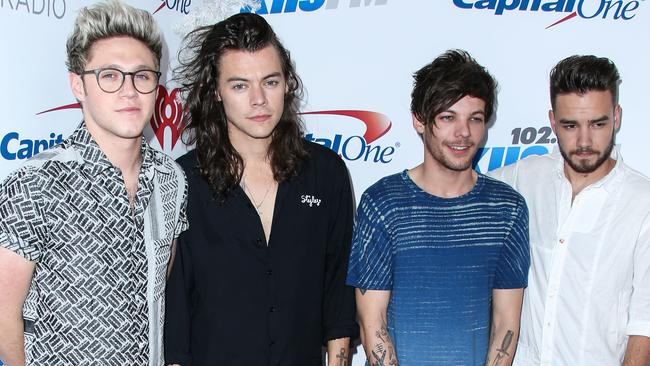 Then there were four: One Direction, just before taking their 'hiatus'