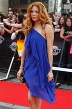 "<p>Actress Rachelle Lefevre from the new film ""The Twilight Saga: New Moon"" arrives during the 2009 MuchMusic Video Awards in Toronto June 21, 2009.</p>"