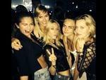"Model Cara Delevigne recruits American singer Selena Gomez to the brit-pack, ""Loving ladies night"" Picture: Instagram"