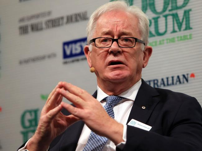 The Turnbull government defended the integrity of former trade minister Andrew Robb. Picture: Aaron Francis/The Australian
