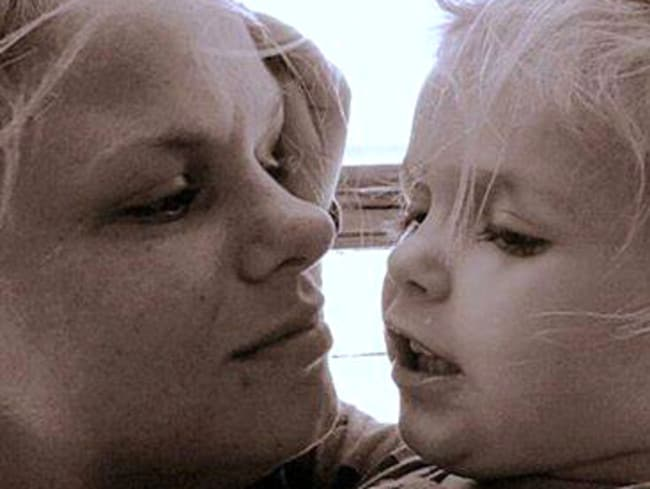 Keisha Jackson, who died in a car accident, with daughter Matilda, who is in a critical condition.