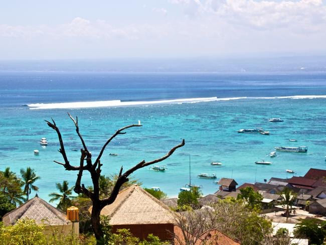 The stunning Nusa Lembongan. Picture: Aussie