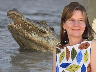 Victim's last words: 'A crocodile's got me'