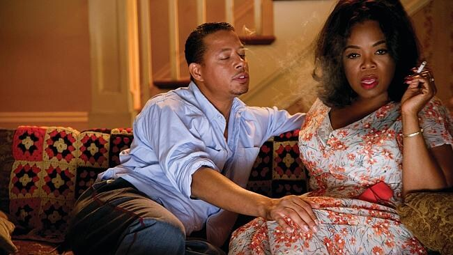 "Oprah Winfrey and Terrence Howard in a scene from Lee Daniels' ""The Butler""."
