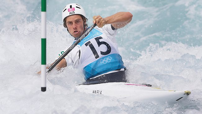 Kynan Maley is through to the next round of the C1 canoe event at the London Games.