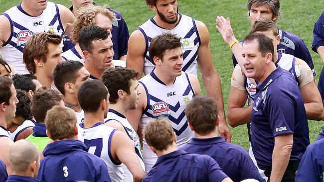 Ross Lyon hopes to take his side back to the big stage this year. Picture: Chris Scott