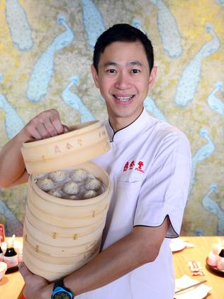 Singaporean owner of Din Tai Fung restaurant's, Dendy Harjanto. Picture: Jeremy Piper