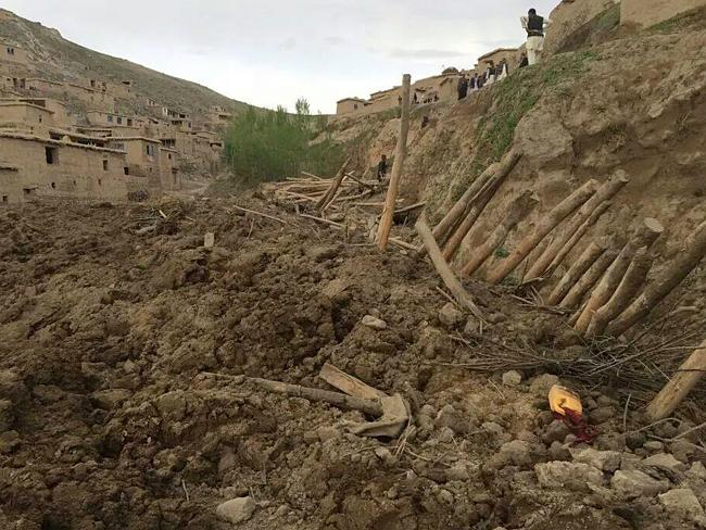 No chance ... Afghan and UN officials say the landslide has left thousands dead and hundreds more missing.