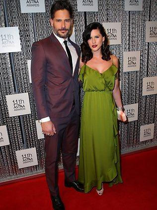True Blood's Joe Manganiello with Bridget Peters at the 11th Annual ASTRA Awards. Picture: Richard Dobson