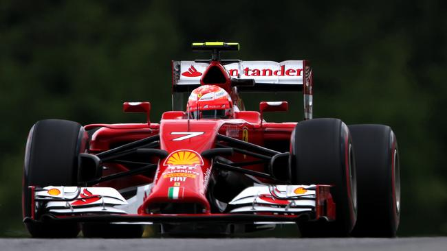 Raikkonen has struggled to match Alonso in 2014.