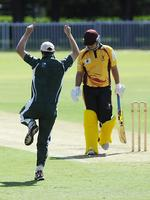 The Frank Gray Shield Cricket Final Between North West Sydney Hurricanes And Warringah At Airey Park