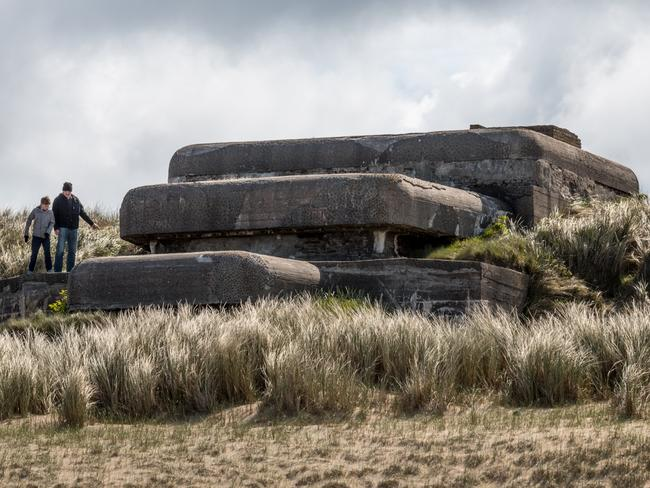 These bunkers once housed thousands of German troops. Picture: Solveig Grothe/Spiegel Online