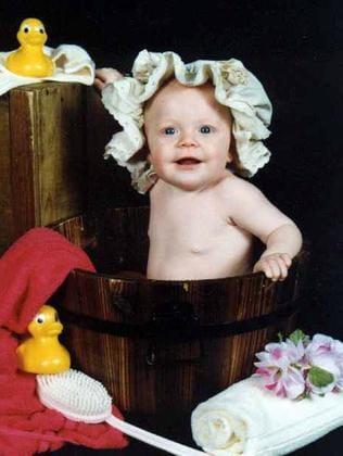 Taylah Pringle, 11 months.