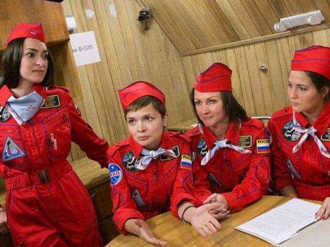 Russia sent the first woman into space. Picture: Facebook.