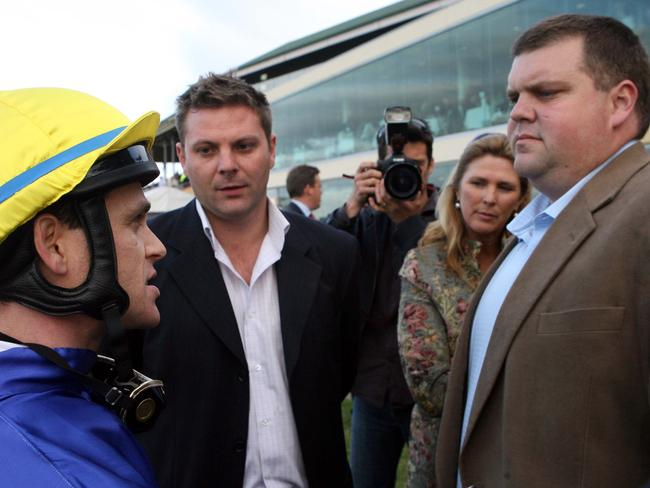 Former jockey Danny Nikolic discusses the performance of a Nathan Tinkler runner.