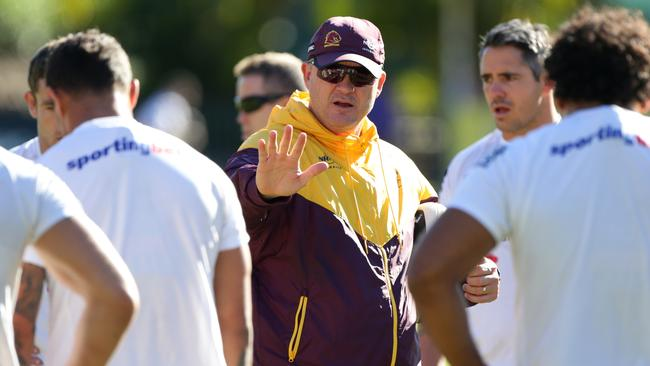 Anthony Griffin's tenure as Brisbane coach could be at an end.