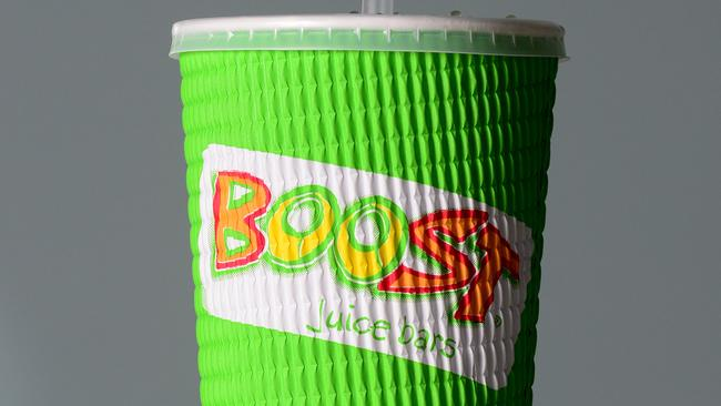 Boost Drinks Drive Through