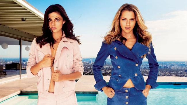 Phoebe Tonkin and Teresa Palmer run the health blog YZL or yourzenlife.com. Picture: Troyt Coburn/InStyle