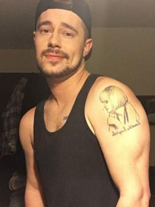 Don't call him hot ... Chris Crocker looks different from his Leave Britney Alone video. Picture: Instagram