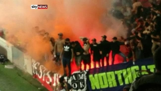 western sydney wanderers flares up - photo#13