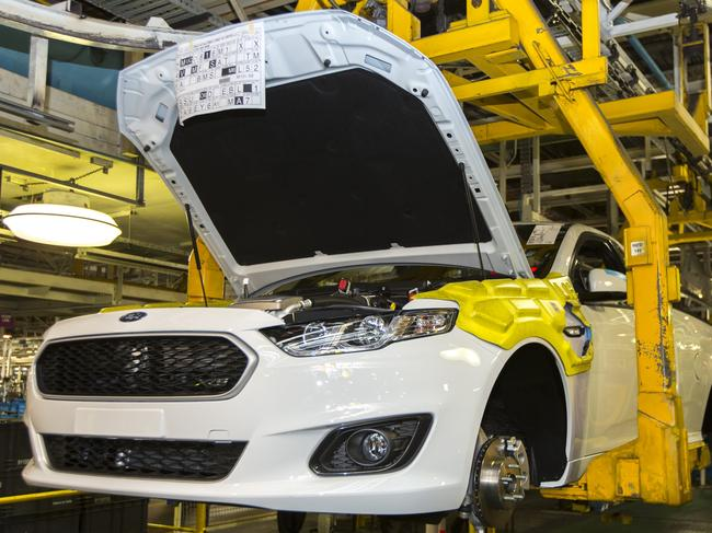 Last Aussie Ford Falcon ute ever made