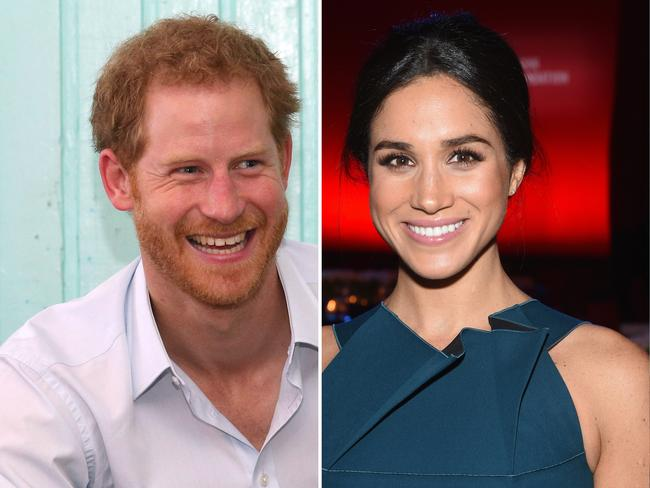 Things are getting serious between Prince Harry and his actress girlfriend Meghan Markle. Picture: Getty