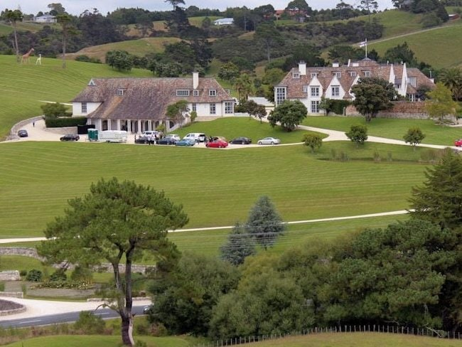 Kim Dotcom's mansion