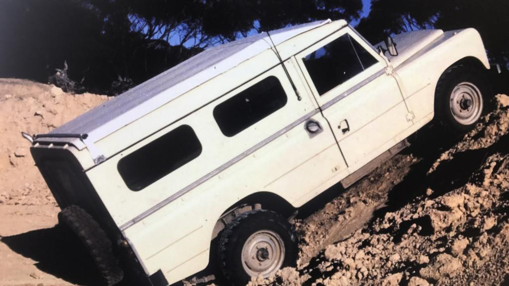 Herwarth Godau's Land Rover was sold before it could be checked by police forensic experts.