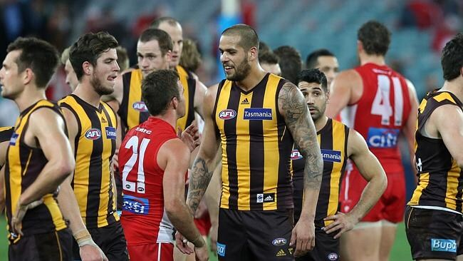 Buddy and the Swans meet Hawthorn in round eight. Picture: Alex Coppel
