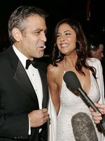 Sadly for Krista Allen however Clooney also had another on-off-again girlfriend, British model and TV presenter, Lisa Snowden. These two were ALSO said to have split in 2006. Picture: AP