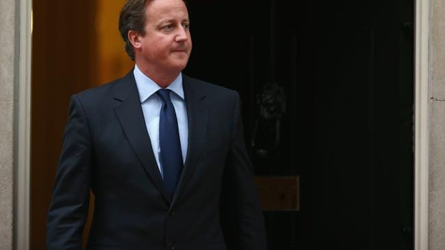 British Prime Minister David Cameron regrets not appointing more women to his Cabinet. Picture: Getty.