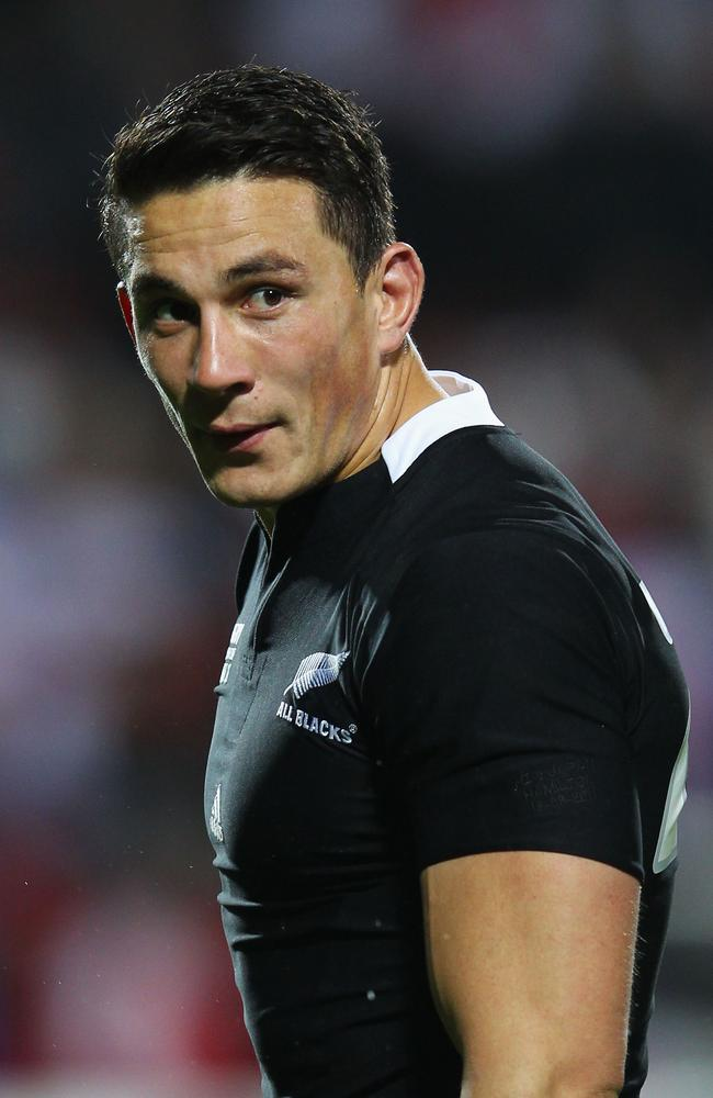 Sonny Bill Williams could play for the All Blacks in November.