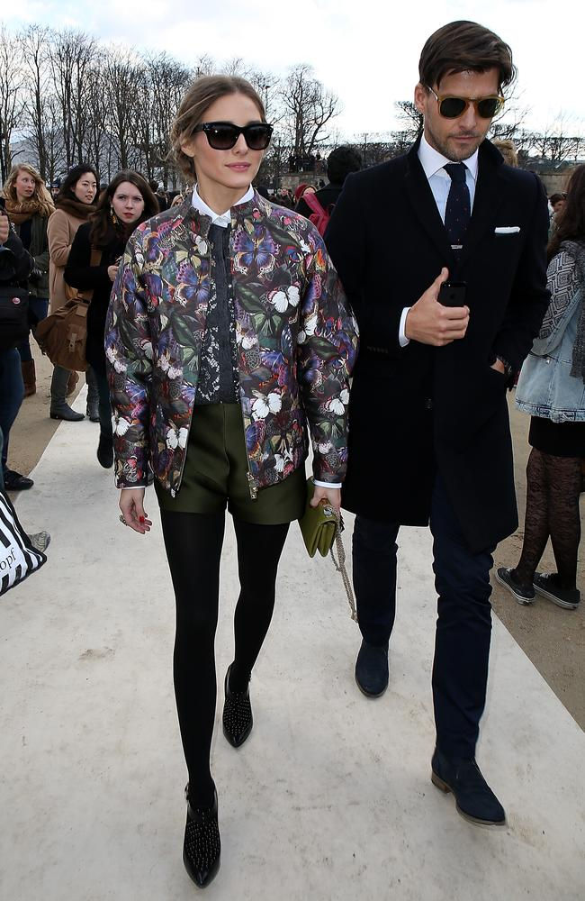 Looking amaze at Paris Fashion Week on March 4, 2014. Photo by Pierre Suu