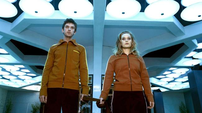 The relationship between David (Dan Stevens) and Syd Barrett (Rachel Keller) propels Legion forward — literally. Picture: FX