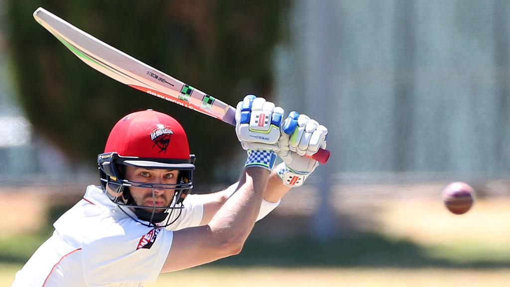 Callum Ferguson ... to play his 100th game in the Sheffield Shield final. Picture: Stephen Laffer