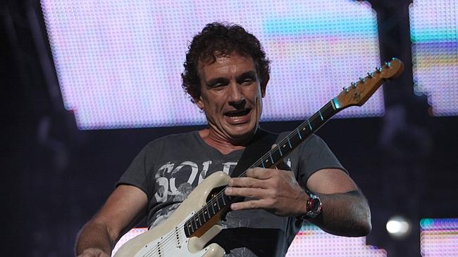 Subtlety with intensity ... Ian Moss in full flight with Cold Chisel. Picture: Tom Hancock