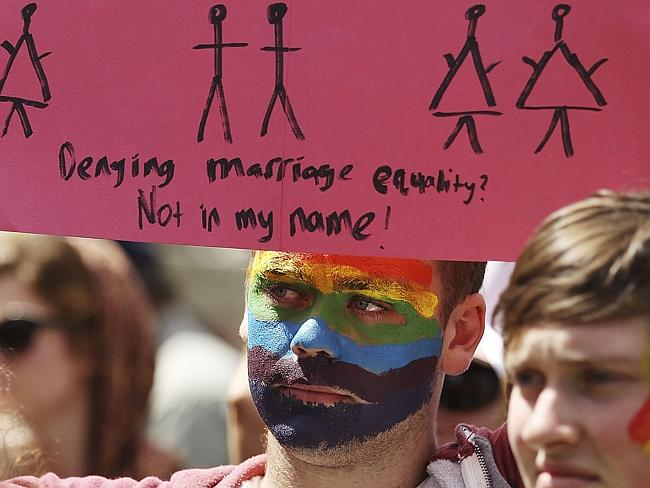 Frustrating: Marriage equality has dropped off the national agenda. Picture: Stefan Postles