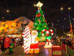 How our giant LEGO Christmas tree was made