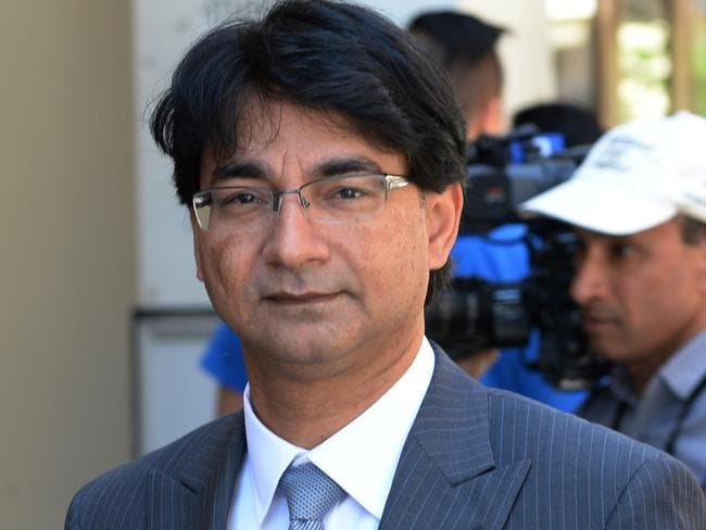 Lloyd Rayney, who testified in a public courtroom for the first time this week.