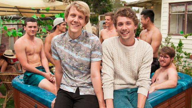 Please Like Me ... the first season focused on Josh's (left) awkward coming out. New love interests abound in season two.