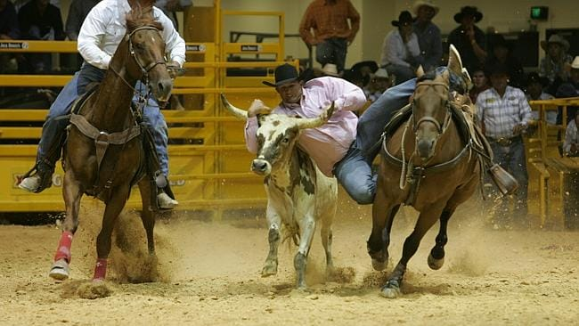 Steer wrestling is one of the world's most demanding sports, according to ESPN. Shane Iker is one of our best.